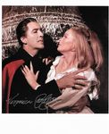 Veronica Carlson HAMMER HORROR genuine signed autograph10 by 8 COA 11418